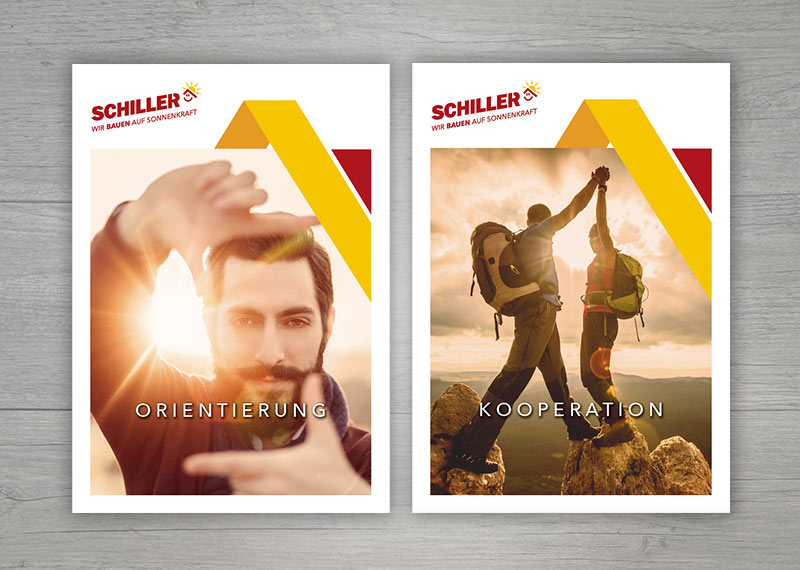 Schiller Werteposter