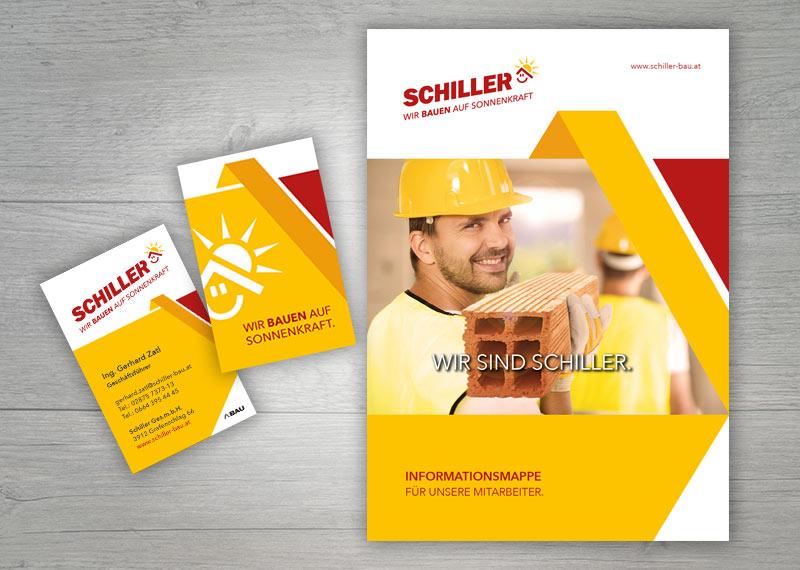 Schiller Werbung